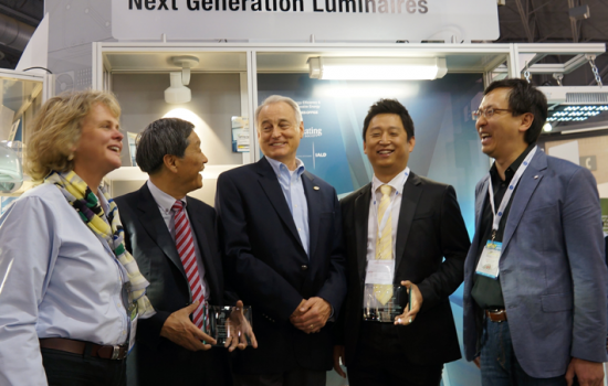 Samjin Wins Next Generation Luminaires Design Competition Awards